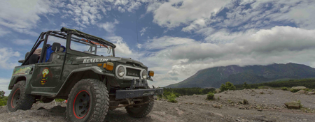 Jeep tour lava merapi